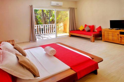 Chambre Standard Plus Hotel Sarimanok Nosy-Be Madagascar